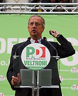 Walter Veltroni was the first leader of Italy's centre-left Democratic Party