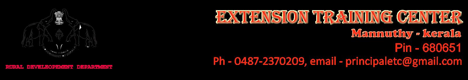 Extension Training Center