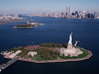 Image of Submerge Monuments in Liberty Island