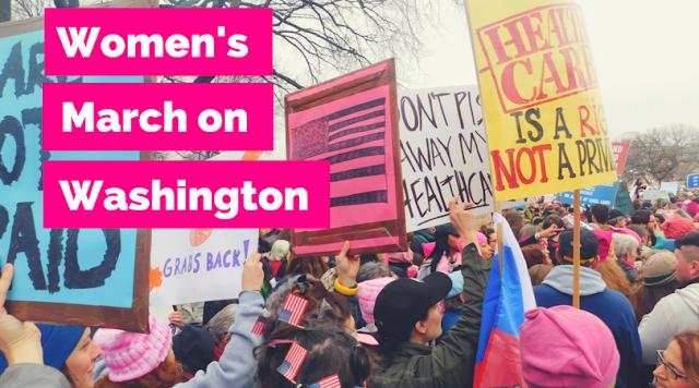 #WhyIMarch(ed): My Favorite Photos from the Women's March on Washington