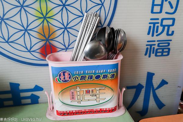 台中北屯東東素食東山店|麵線糊、臭豆腐、素粽,平價素食小吃