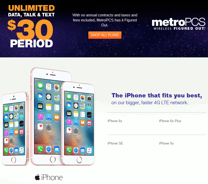 Iphone  Price In Metro Pcs