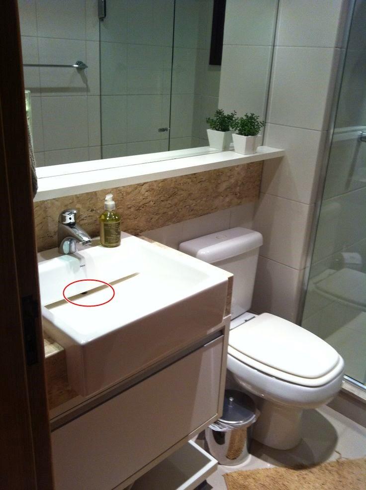 Cubas para banheiros e lavabos!  Jeito de Casa  Blog de Decoração -> Pia De Banheiro Suspensa