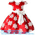 ▷ 10 BEST 2-9 Years Toddler Girls Christmas Dress Flower Girls Bow Knot Snowflake Print Xmas Eve Holiday Wedding Formal Party Dresses 2020 ◁✅ (What is the best xmas party dresses?)