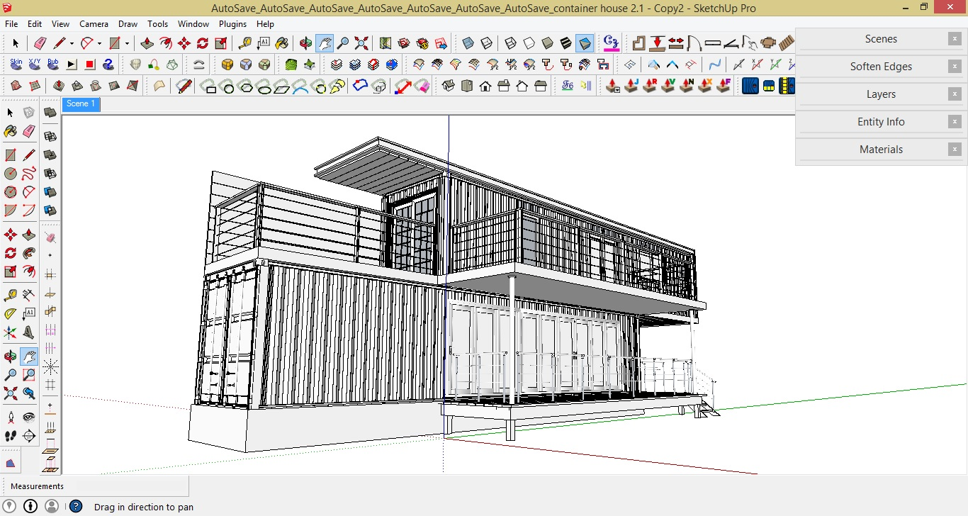 THE MAKING OF CONTAINER HOUSE: SKETCHUP, V-RAY AND POST