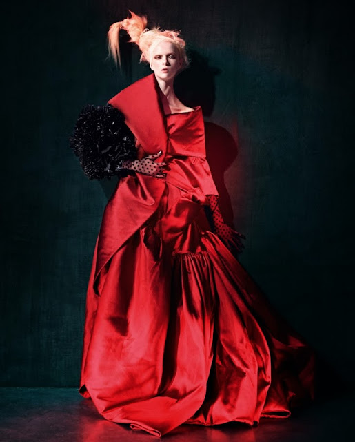 Editorial Fashion | Alyona Subbotina for How To Spend It November 2013 by Damian Foxe