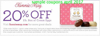 Fannie May coupons for april 2017