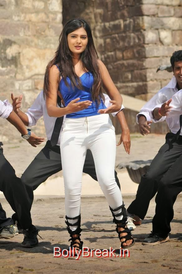 Neha Deshpande Pics in Blue Top From The Bells Movie, Neha Deshpande Hot Pics in blue Top, Tight Jeans from The Bells Movie