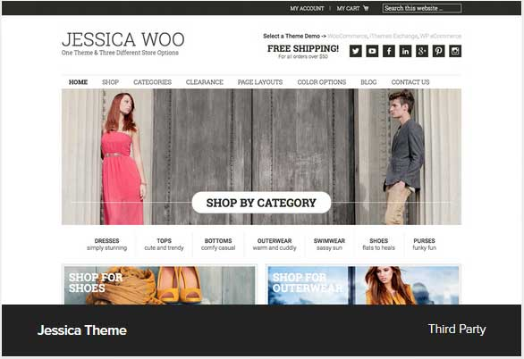 Jessica Woo Pro theme Award Winning Pro Themes for Wordpress Blog : Award Winning blog