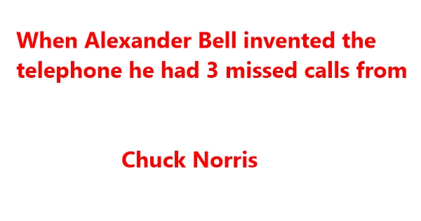 very funny chuck norris jokes