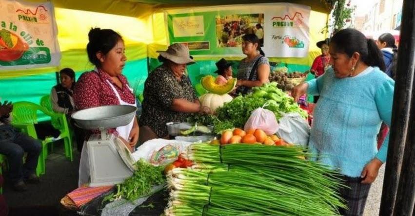 Ministerio de Agricultura organiza mercados itinerantes para atender a consumidores de Lima y Provincias