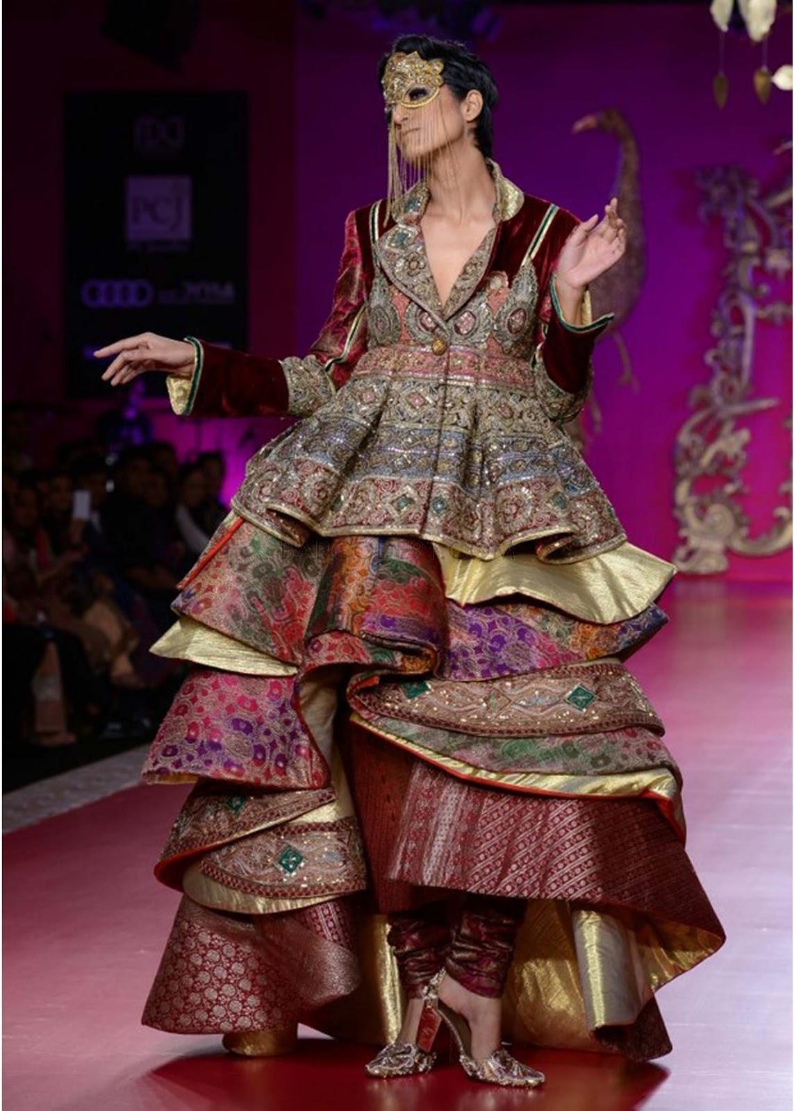 Ritu Beri Collection at PCJ Delhi Couture Week 2013 ...