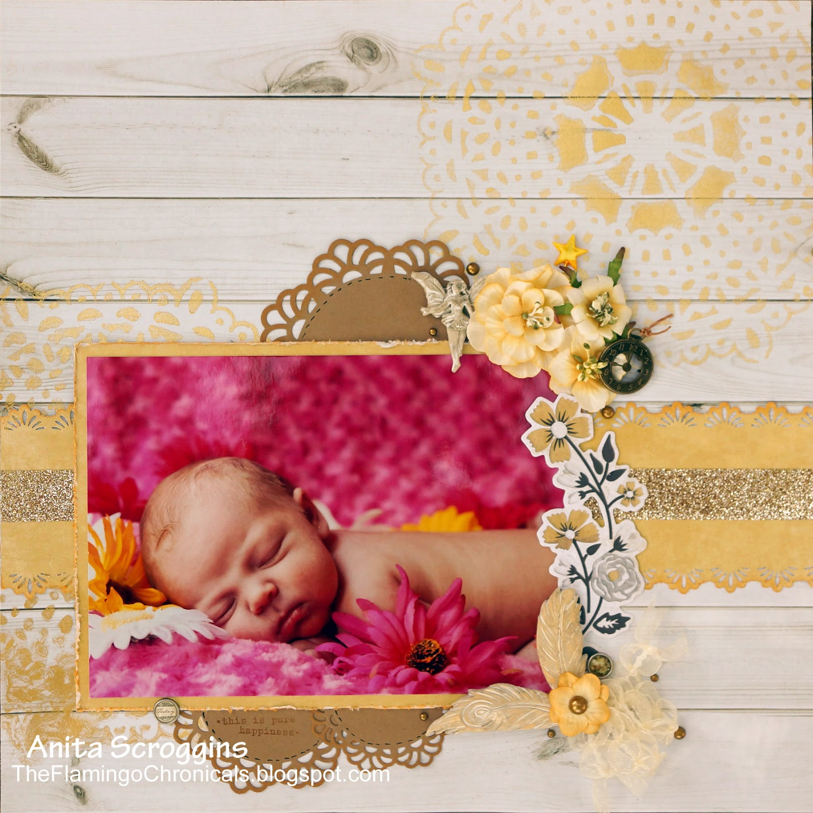 newborn layout