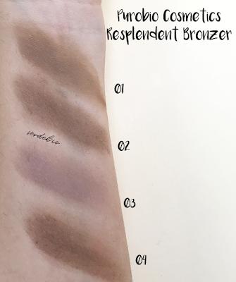 """Purobio Cosmetics collezione """"Resplendent"""" verdebio"""