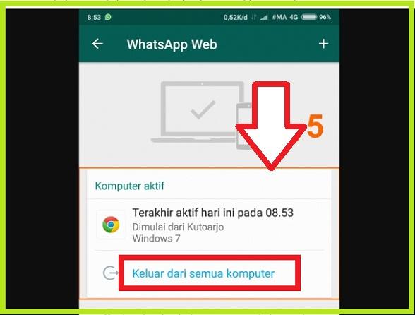 Cara Login WhatsApp Web Tanpa Scan Barcode Hp 4