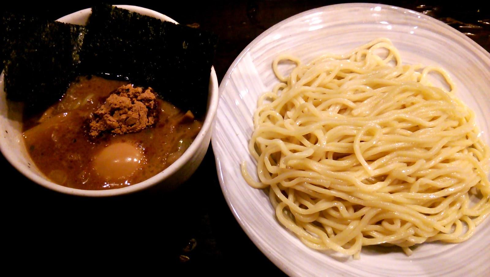 以上、レポっす。: 2015/1/19 得製つけ麺(風雲児@新宿)