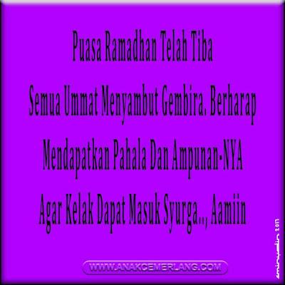 kata ucapan puasa bulan ramadhan