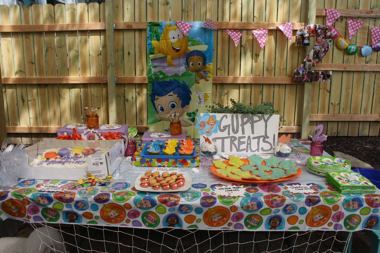 diy bubble guppies birthday party thrifty chic designs
