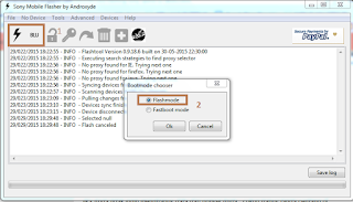 Cara Flash Sony Xperia M2 via PC Mudah