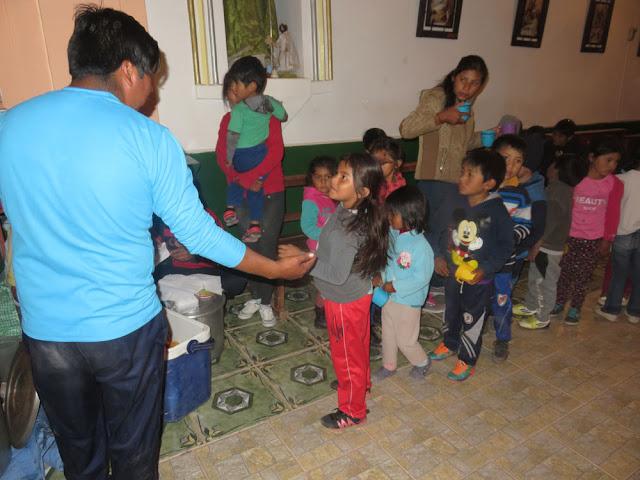 Am Schluss gab es für die Kinder dann noch kleine Geschenke