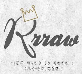 bon plan chez Rrraw : 10% avec le code BLOGBIOZEN - BlogBioZen