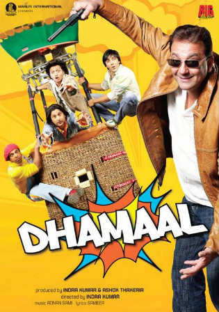 Dhamaal 2007 HDRip 950MB Full Hindi Movie Download 720p Watch Online Full Movie Download bolly4u