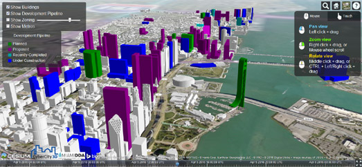 Maps mania miamis future city skyline miamis future city skyline gumiabroncs Gallery