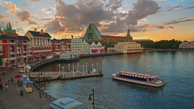 Como é o Disney's Boardwalk em Orlando