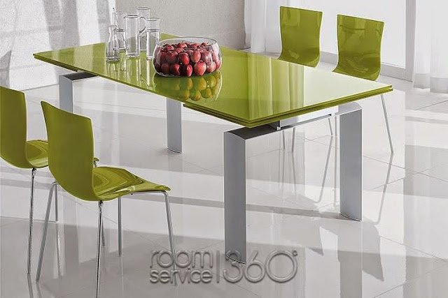 Small Modern Dining Table Idea