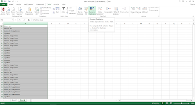 ow to do group by in Excel - COINTIF function example