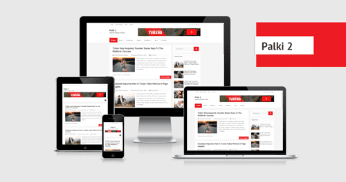 Palki 2 Responsive Blogging Template