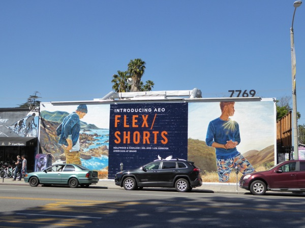 American Eagle Outfitters Flex Shorts billboard