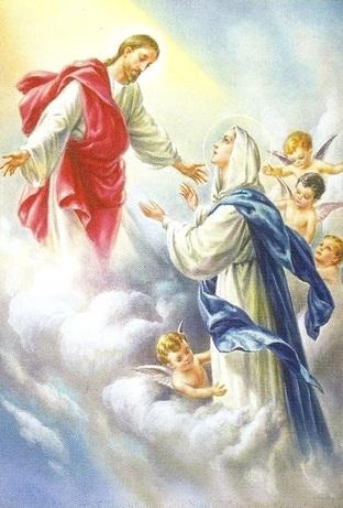 Samakah Yesus Naik Ke Surga Dan Maria Diangkat Ke Surga Salam Damai