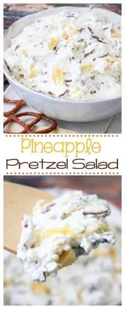 Pineapple Pretzel Salad