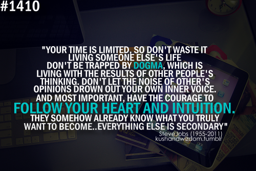 quotes about living your own life tumblr quotes about living your