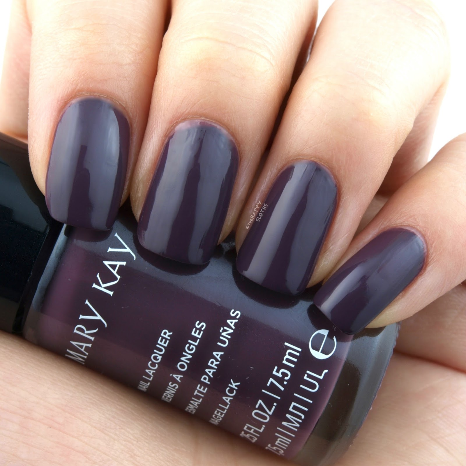 "Mary Kay Fall 2017 Color Collection | Nail Lacquer in ""Violet Silk"": Review and Swatches"