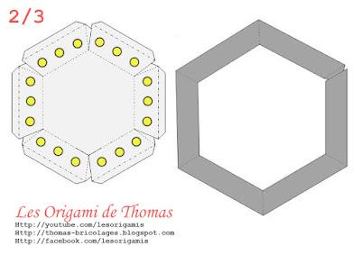 Template : OVNI en Papercraft - soucoupe volante