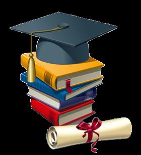 Üniversite mezuniyeti, diploma, kitap, kep