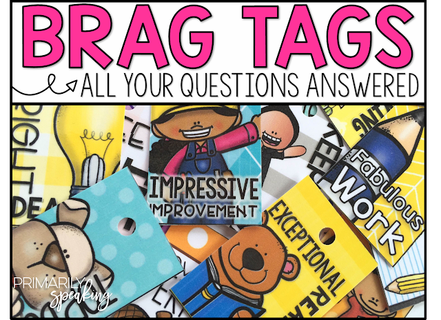 Brag Tags All Your Questions Answered Primarily Speaking Bloglovin