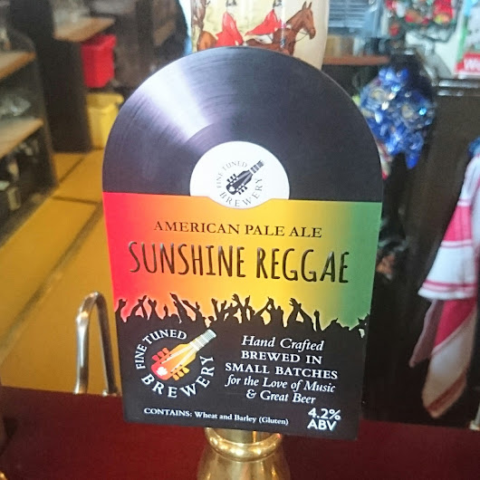 Somerset Craft Beer Review: Sunshine Reggae from Fine Tuned Brewery