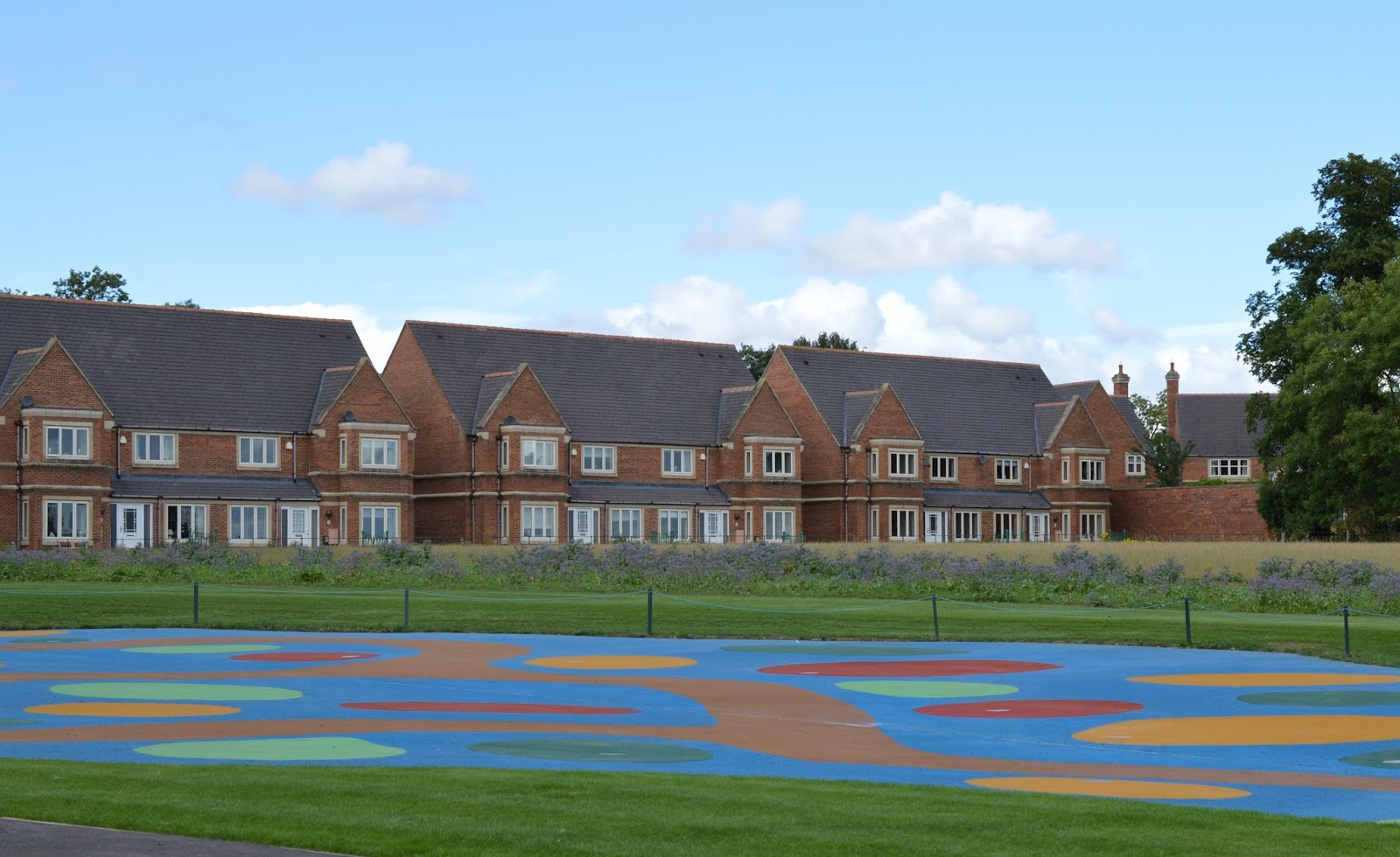 A Luxury Family Staycation at Rockliffe Hall Hotel  - splash pad