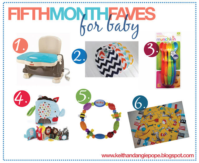 Keith Amp Angie 5 Month Favorites For Baby