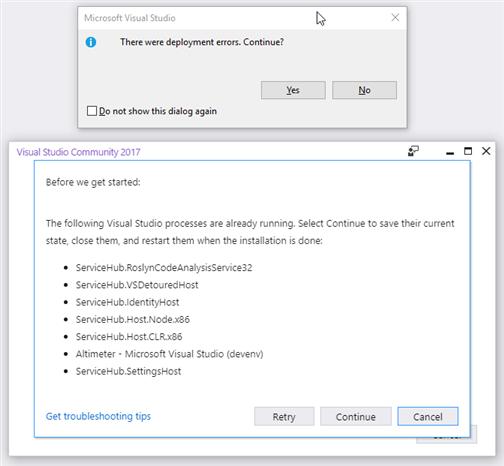 Windows 10 Mobile Emulator - Error error encore des errors