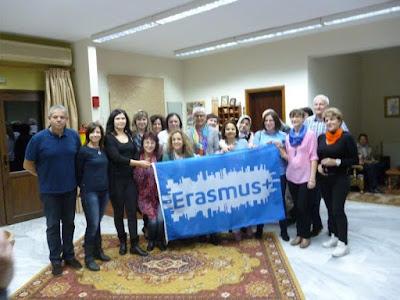 2ο Δημοτικό Σχολείο Κολινδρού - «1η Διακρατική Συνάντηση του Σχεδίου ERASMUS+»