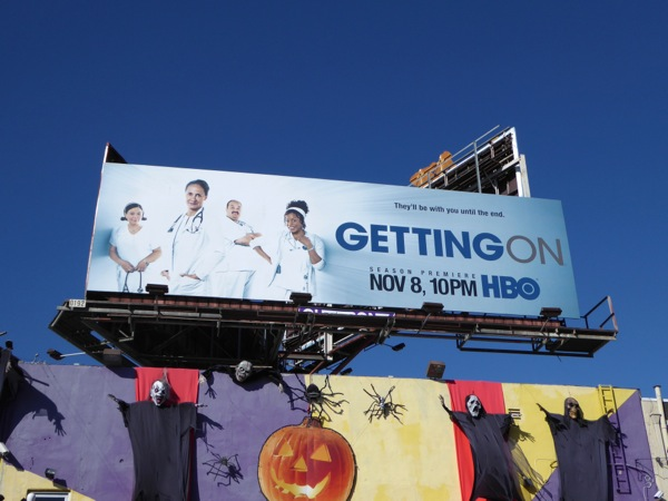 Getting On season 3 billboard