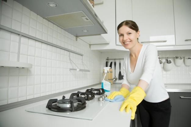 افكار لتنظيف الفرن وعيون الغاز بسهوله