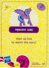 My Little Pony Wave 5 Princess Luna Blind Bag Card