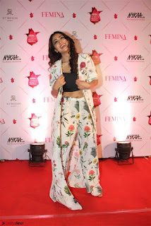 Shriya Saran and Rakul Preet Singh at Femina Beauty Awards 2017
