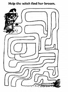 printablecolouringandactivity: 3 Mazes