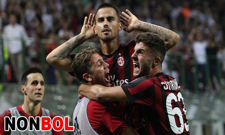 Cuplikan Gol AC Milan 2-1 Cagliari   Liga Italia Serie A Pekan Ke-21